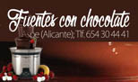 Fuentes con Chocolate